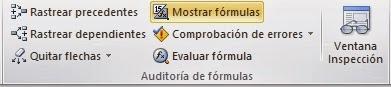 Auditoría de Fórmulas