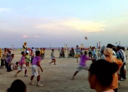 Wisata Pantai Selat Baru Bengkalis Riau Nan Indah dan Unik