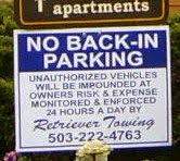 "Portland: City of ""No Back-in Parking"""