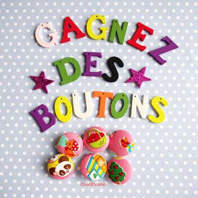 Gagnez des boutons kawaii - http://www.noufinwonderland.com/
