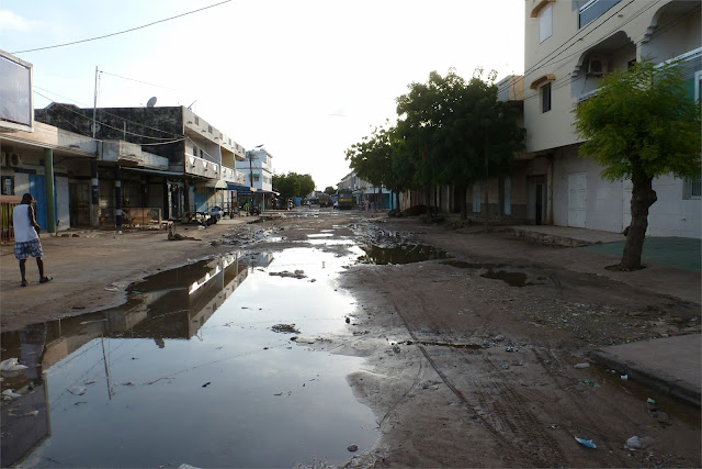 Calles de Kaolack