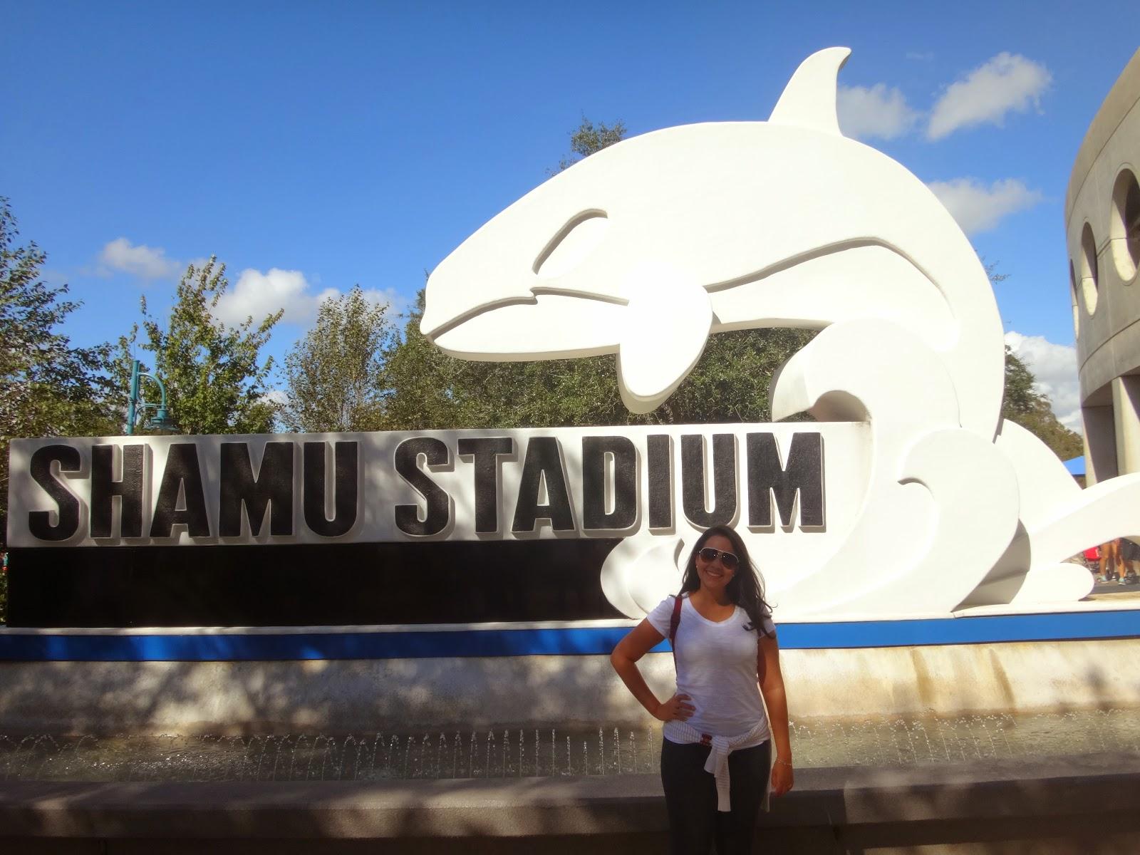 shamu stadium - Parque sea world - orlando, florida