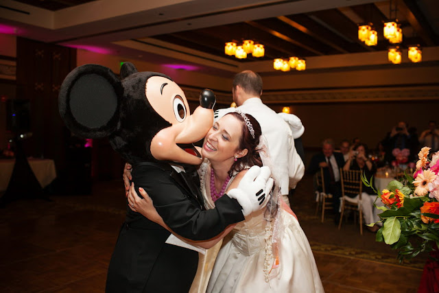 Disneyland Wedding - Mickey  {Root Photography}