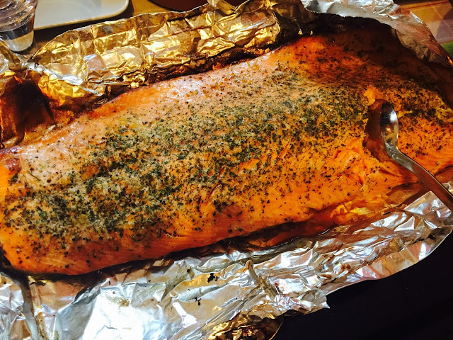 Smoker bag smoked salmon ready to eat