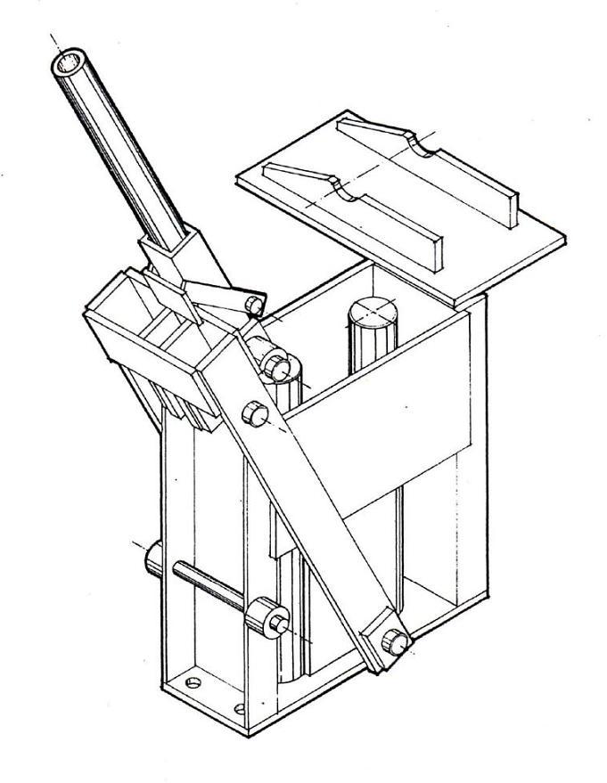 Как сделать станок для кирпича чертежи