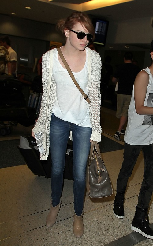 Emma Stone: Casual Style