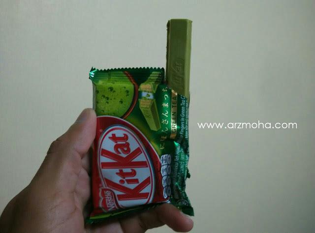 Perisa baru Kit Kat, kitkat hijau, Kit Kat Green Tea, KitKat,