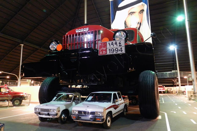 Giant Dodge truck