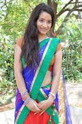 Santoshi sharma half saree pics-thumbnail-10