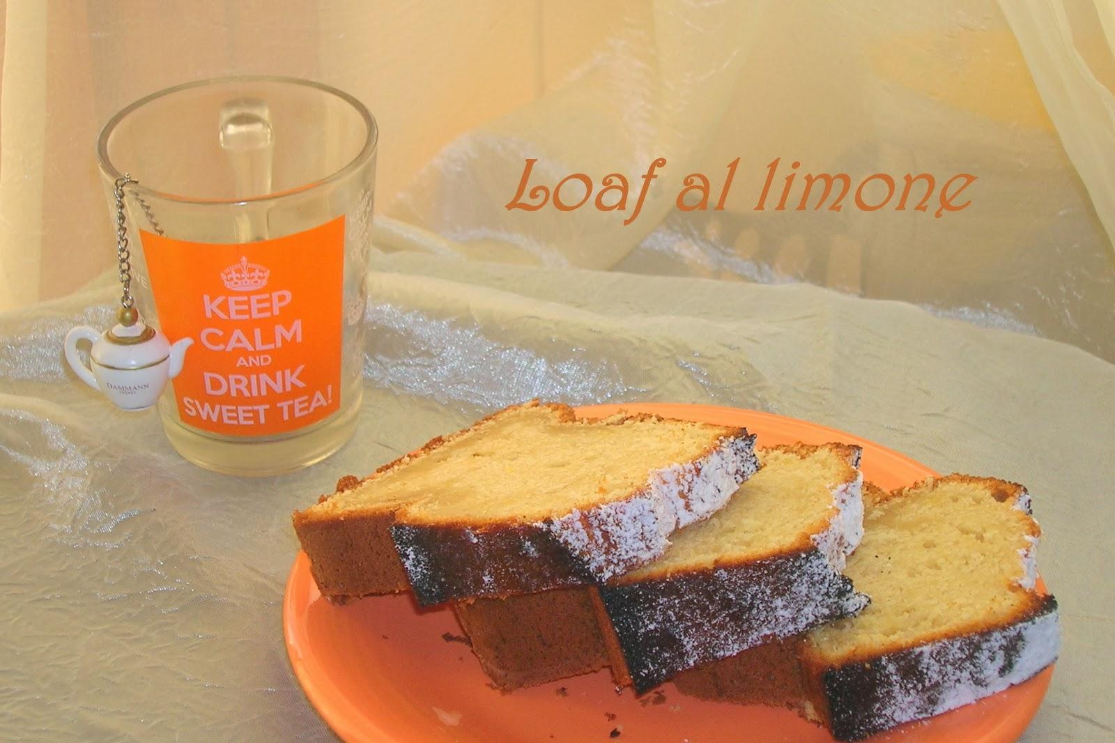 il loaf al limone della