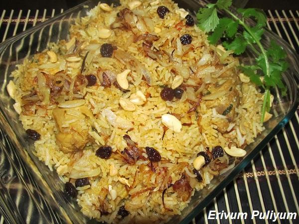 Chicken  Dum Biriyani  & Good Bye 2011 !!