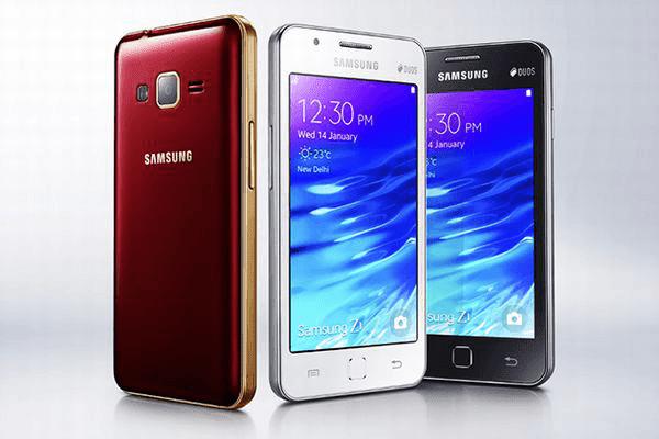 أخيرا سامسونغ تقدم هاتفها الأول بنظام Tizen