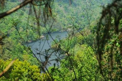 Villayón, vista del río Navia