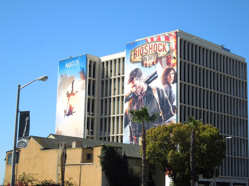 BioShock Infinite video game billboards