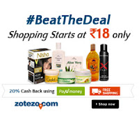 Zotezo: Get Extra 20% Cashback with PayUMoney from Rs 30 :buytoearn