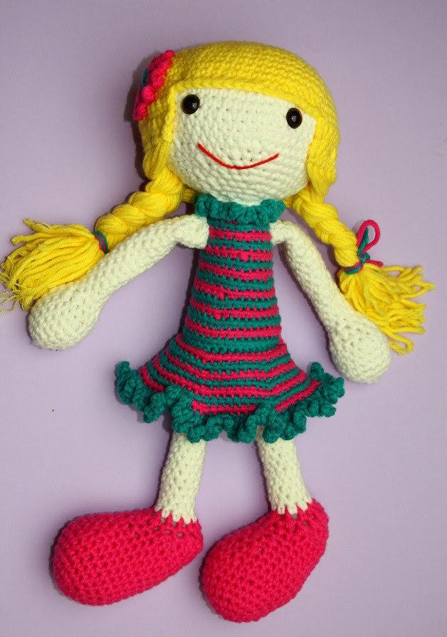 Izzy Doll made by Haekel-Bine - Sayjai Amigurumi Crochet ...