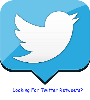 looking for twitter retweets