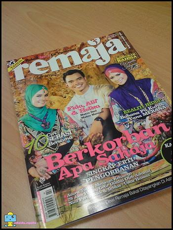 Bila Blogger Masuk Majalah (8) - Suhaida Supalio