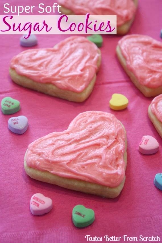 Valentine Sugar Cookies | Tastes Better From Scratch