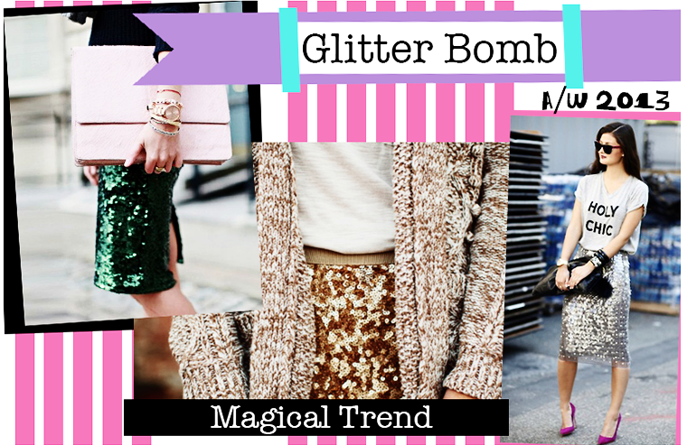 shine, sparkle and shimmer trend