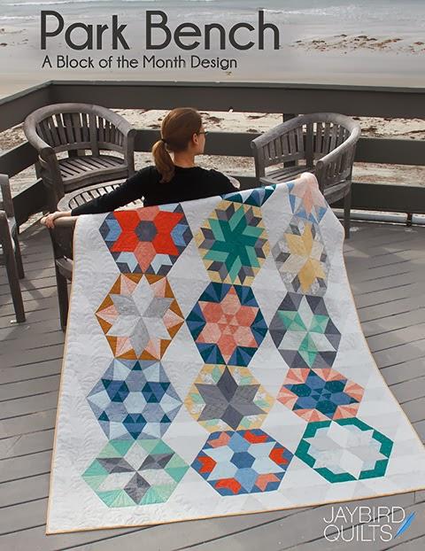 Jaybird Quilts : hexagon quilt kit - Adamdwight.com