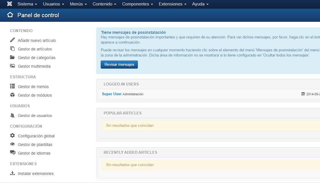 Tutorial Joomla