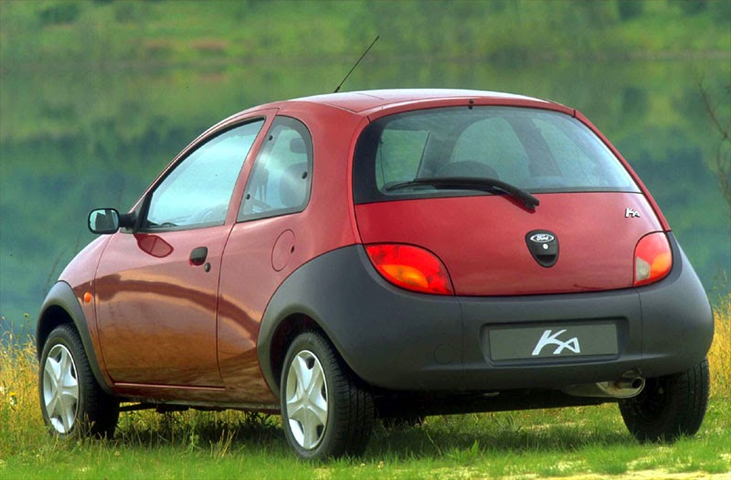 Car Style Critic Ford Ka New Edgy First Version
