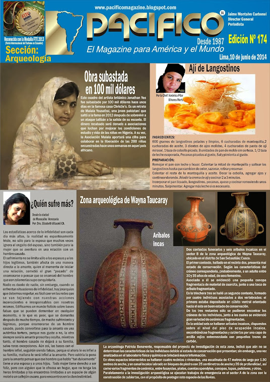 Revista Pacífico Nº 174 Arqueología