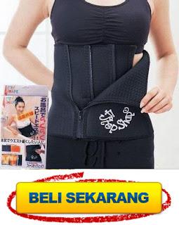 grosir korset pelangsing tubuh harga murah 4 step shape slimming belt
