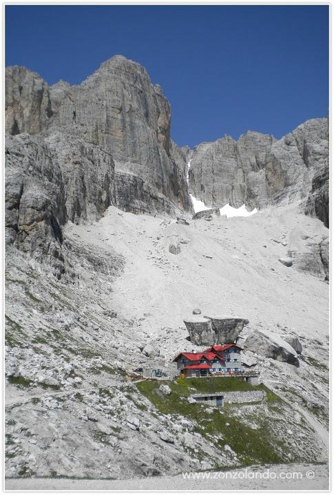 Come arrivare in Val D'Ambiez Trentino Alto Adige percorso itinerario Rifugio Agostini