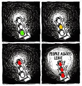 People always leave...