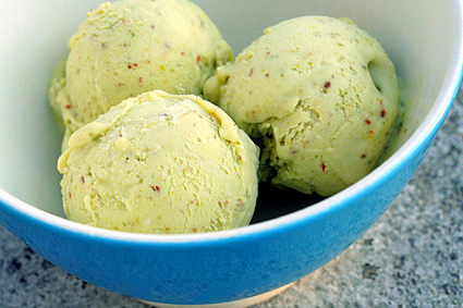 Pistachio Ice Cream Recipe ~ Easy Dessert Recipes