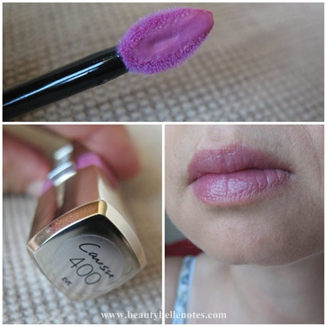 L'Oreal Paris Shine Caresse Lip Colour Eve 400