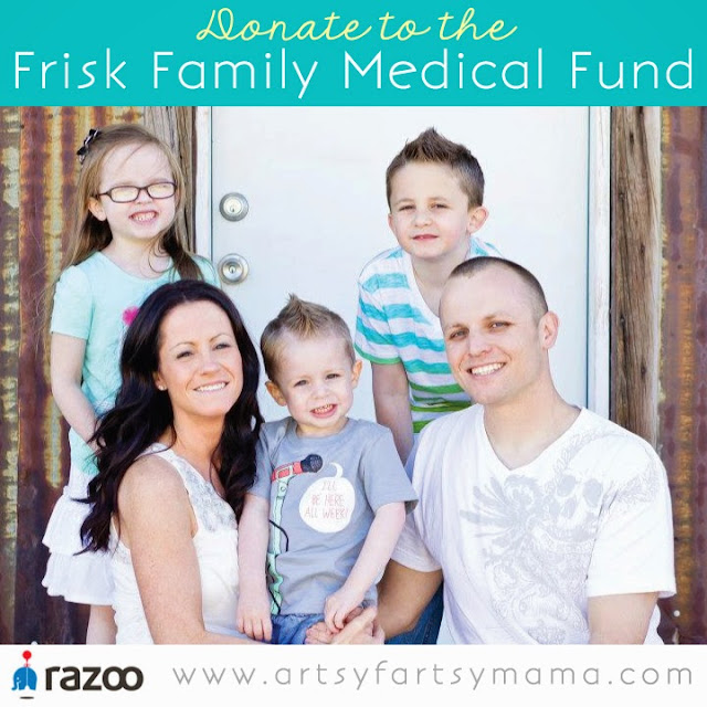 Donate to the Frisk Family Medical Fund