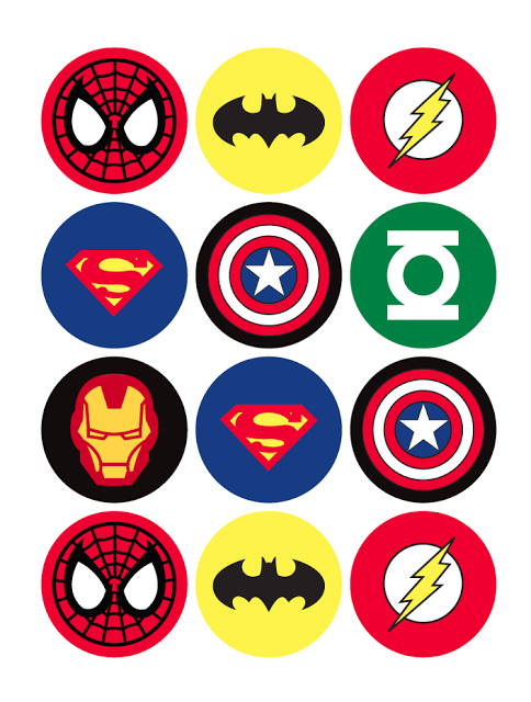 Where to Find FREE Superhero Printables