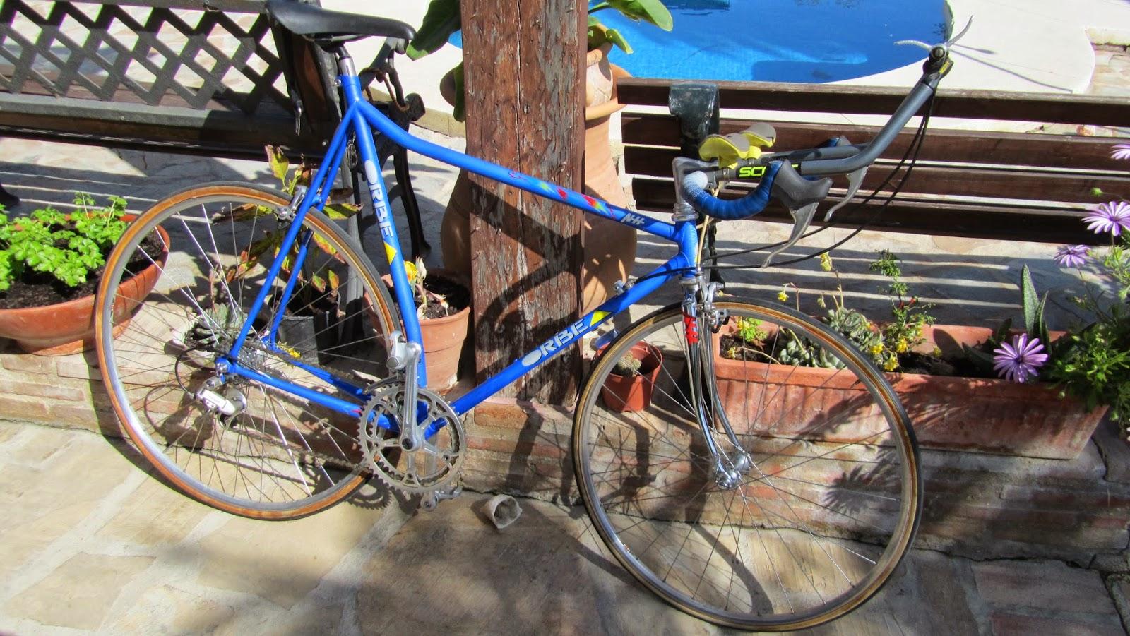 bicicleta orbea crono contrarreloj
