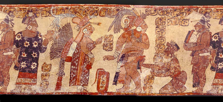 Historia de la danza for El mural de bonampak
