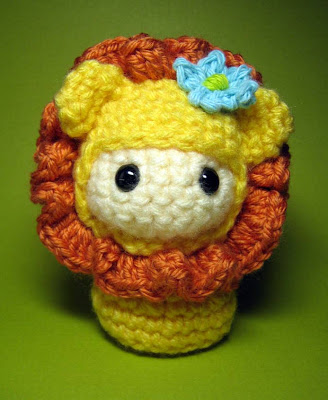 Little Amigurumi Lion : Amigurumi Friends: Little Lion Doll amigurumi pattern