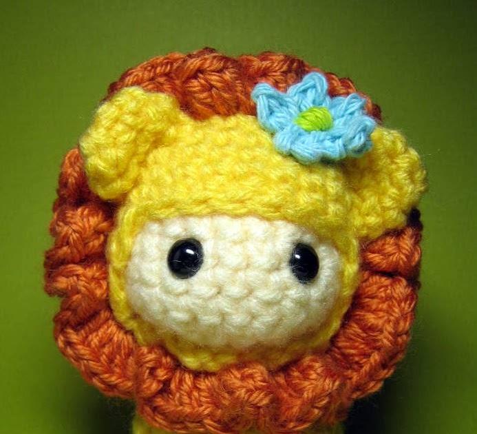 Amigurumi Animals Susan Yeates : Amigurumi Friends: Little Lion Doll amigurumi pattern