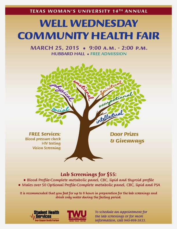 Check It Out Save The Date Twu Health Fair On Wednesday March 25th