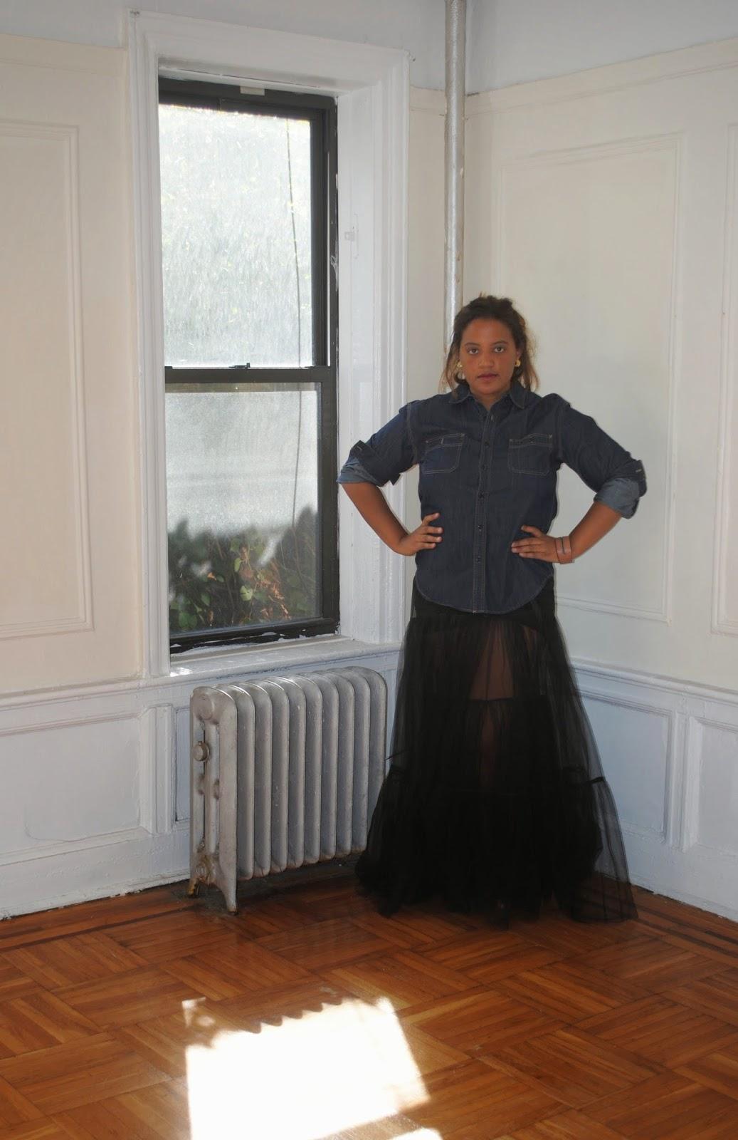 Edie's Closet: Denim & Tulle