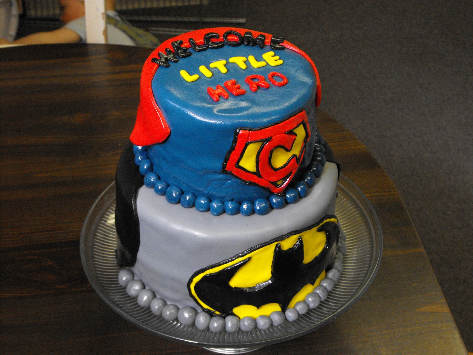 superhero baby shower cakes the hippest pics