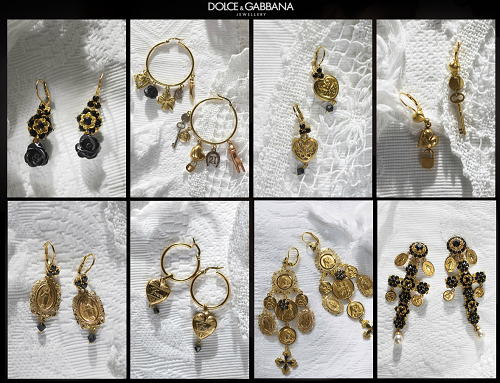 Dolce and Gabbana Fashion Jewelry| Earrings