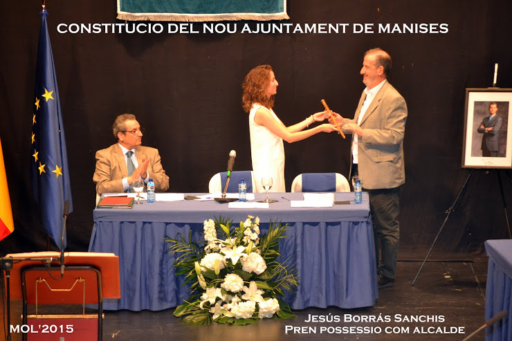 13.06.15 PRENEN POSSESSIO ELS NOUS REGIDORS DE L'AJUNTAMENT DE MANISES