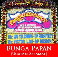 Karangan Bunga Wedding