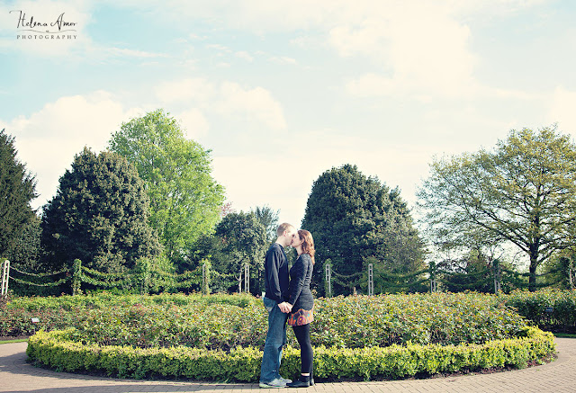Regent's park engagement photoshoot