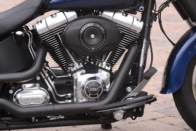 """Motor Dois cilindros em """"V"""", Twin Cam 96B, refrigerado a ar"""