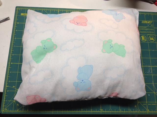 DIY toddler pillow