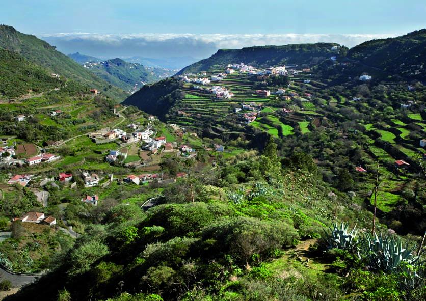 Las Lagunetas Spain  city photos gallery : ... las lagunetas buenavista del norte el paisaje protegido de las