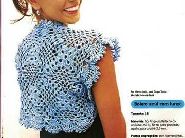 Bolerito a Crochet
